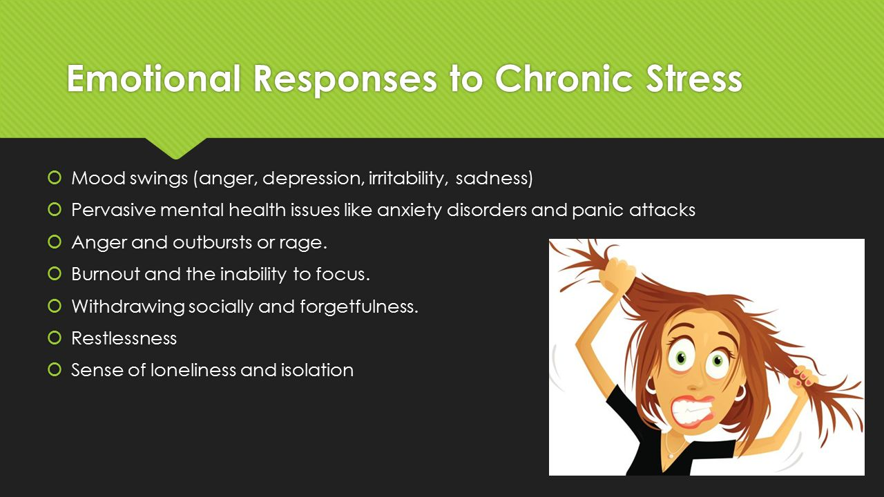how to change chronic stress