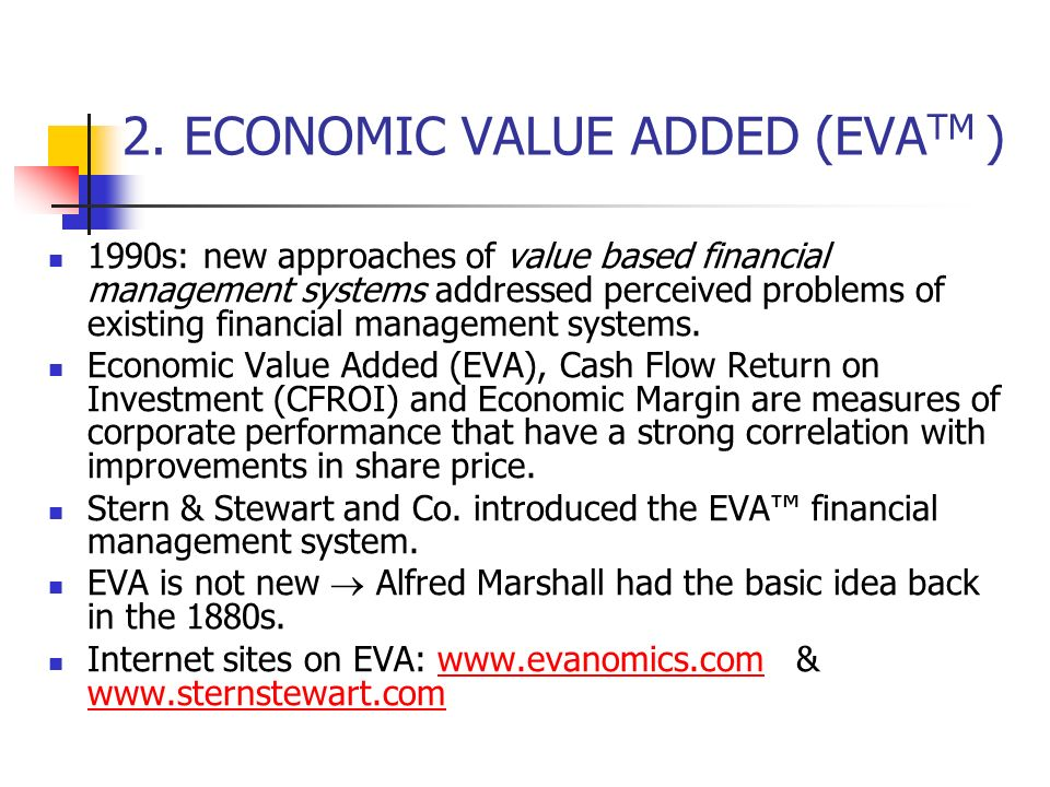 eva financial systems management perspectives Which of the following is not one of the four perspectives measured in the from bus 302 at strayer financial correct answer.