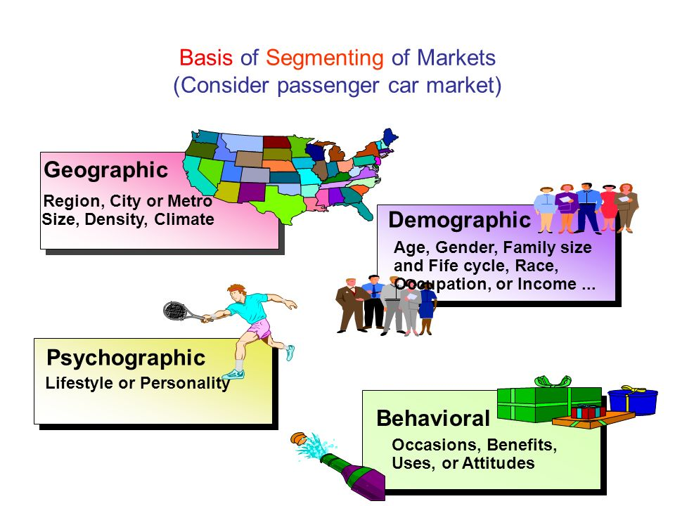 market segmentation passenger motor vehicles Market segmentation strategies 41 market segments of passenger motor vehicles passenger motor vehicles can be segmented in various ways according to five major segmentation variables including geographical, demographical, psychological, benefit and behaviourial.