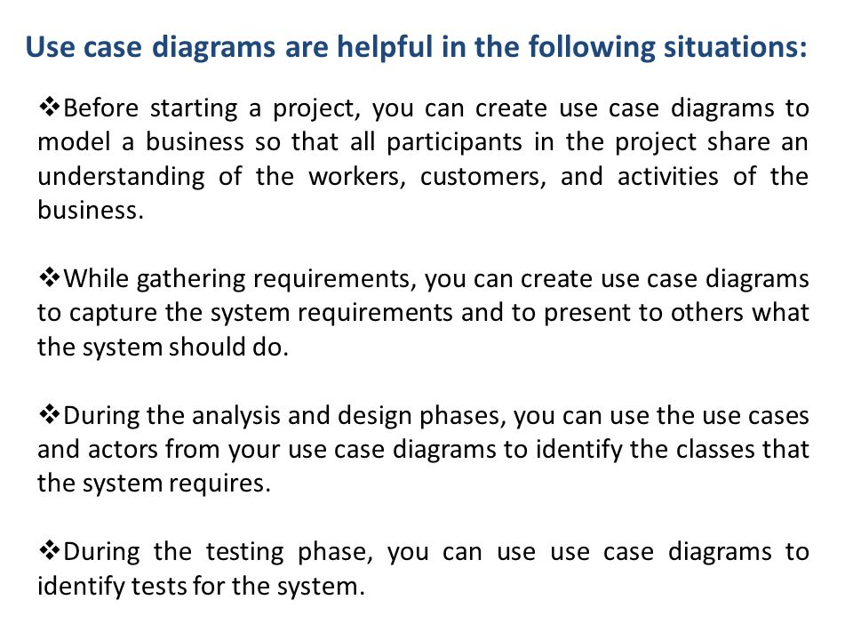 3 use - Software To Create Use Case Diagrams