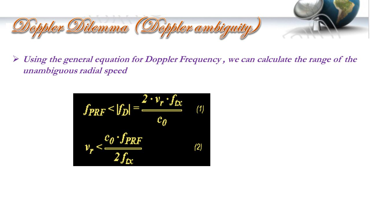 how to find direction of frequency doppler shift