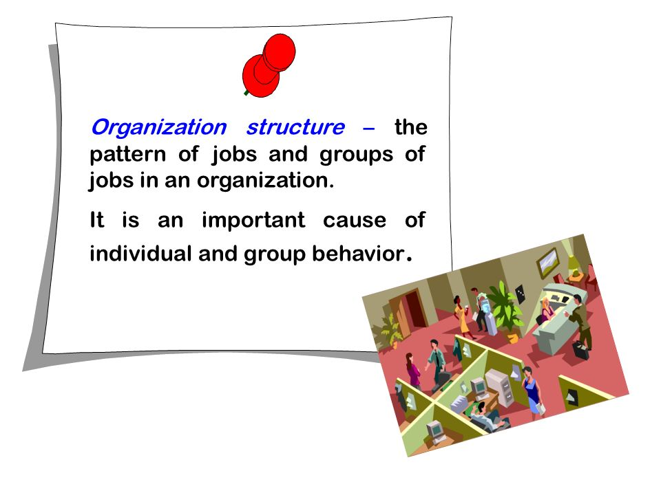 organizational behaviour study of individuals groups and structures Organizational behavior is the study of both group and individual performance   example − organizational structure defines the relation of a.