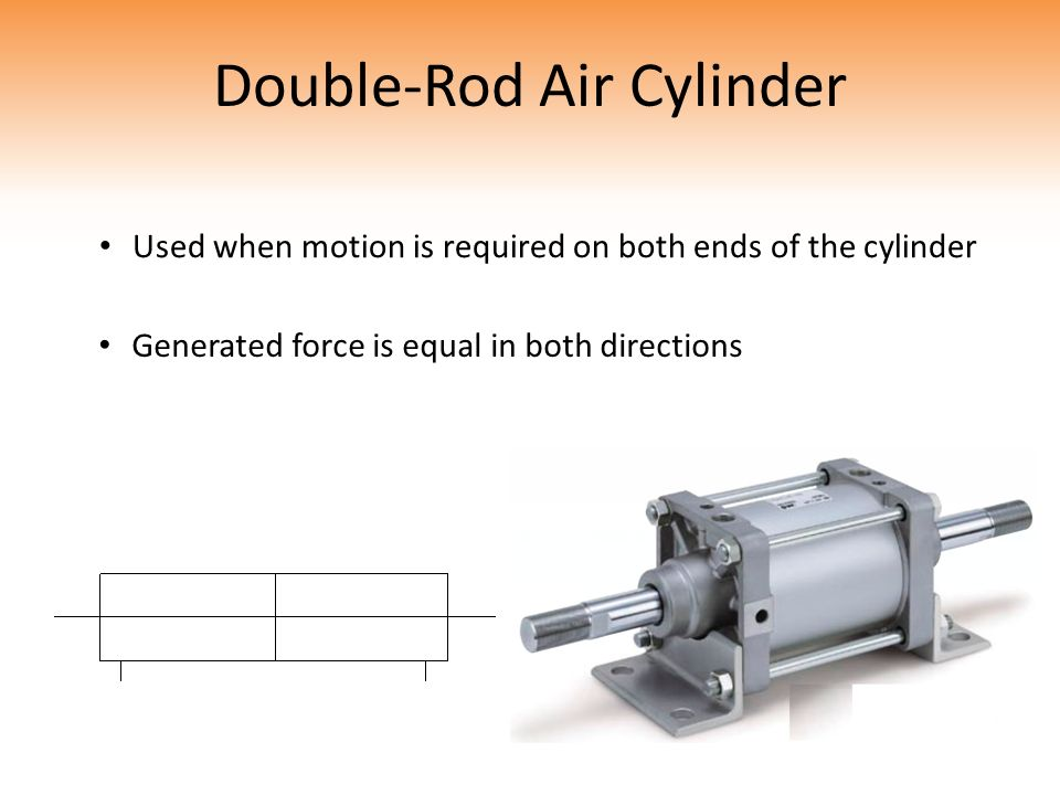 Double-Rod Air Cylinder