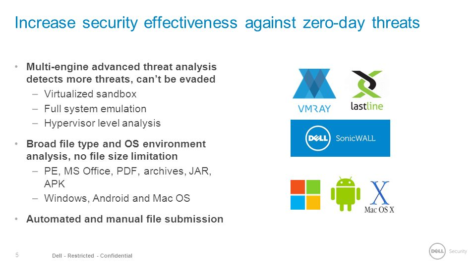 Introducing Dell Sonicwall Capture Advanced Threat