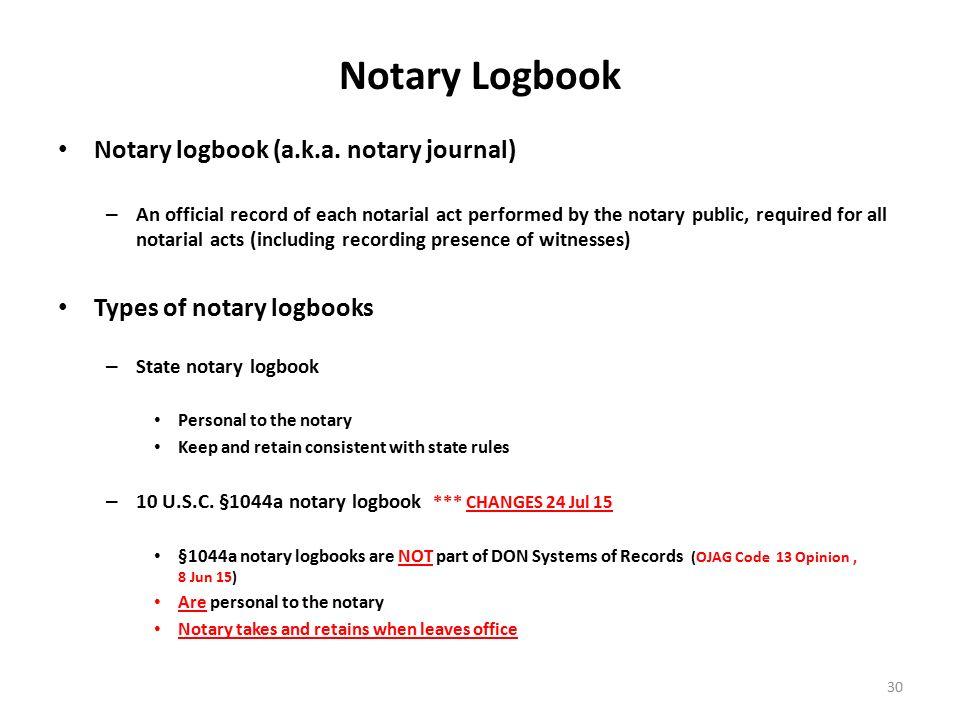 Notary Log Book Template Vosvetenet – Notary Template