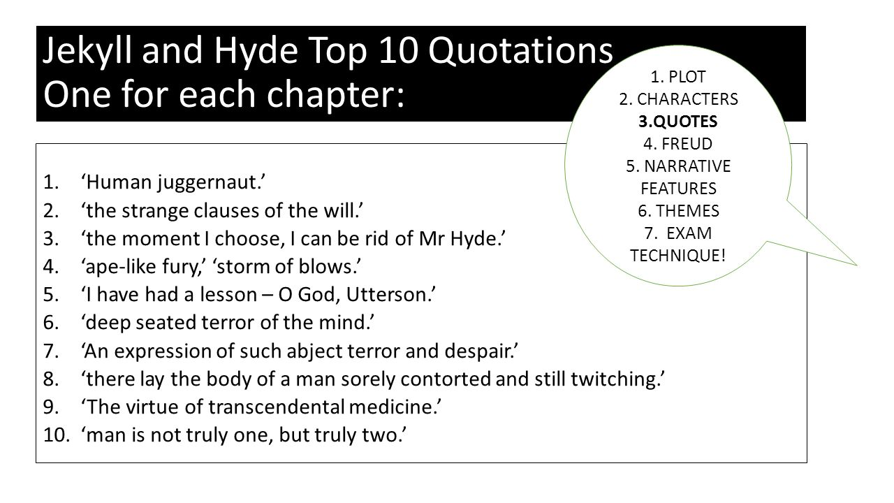 the duality of human nature in chapters 1 4 9 of dr jekyll and mr hyde essay Amazoncom: strange case of dr jekyll and mr hyde (norton critical  the  strange case of dr jekyll and mr hyde (illustrated) and millions of other books  are available for  #1 best seller in lgbt classic fiction  and essays about  the real book and a summary of drjekyll and mrhyde  published 9 days  ago.