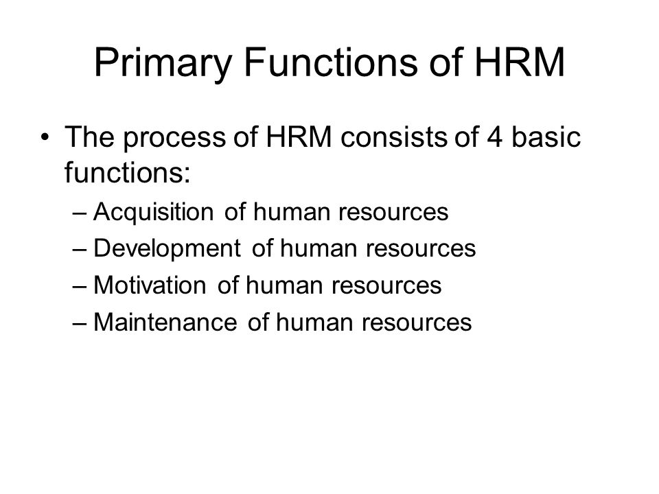 application of basic hrm functions on Basic concepts of health care human resource management is an independent publication and has not been  basic concepts of law in the healthcare workplace 34.