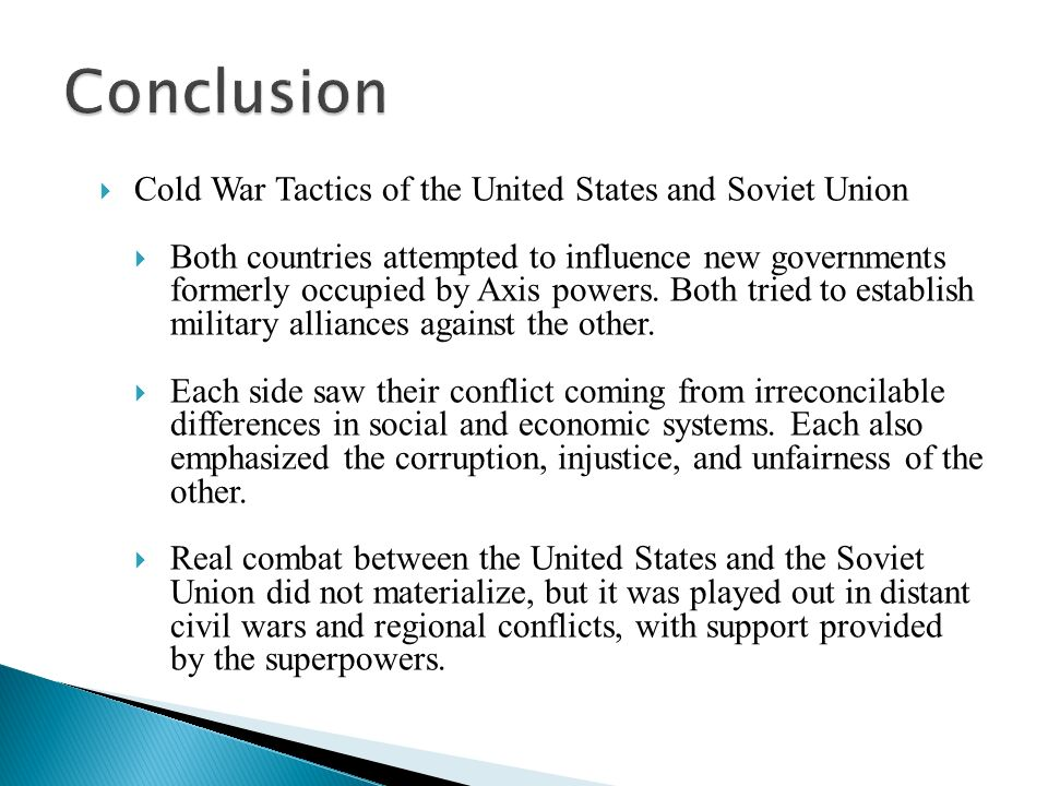 Cold War Questions and Answers