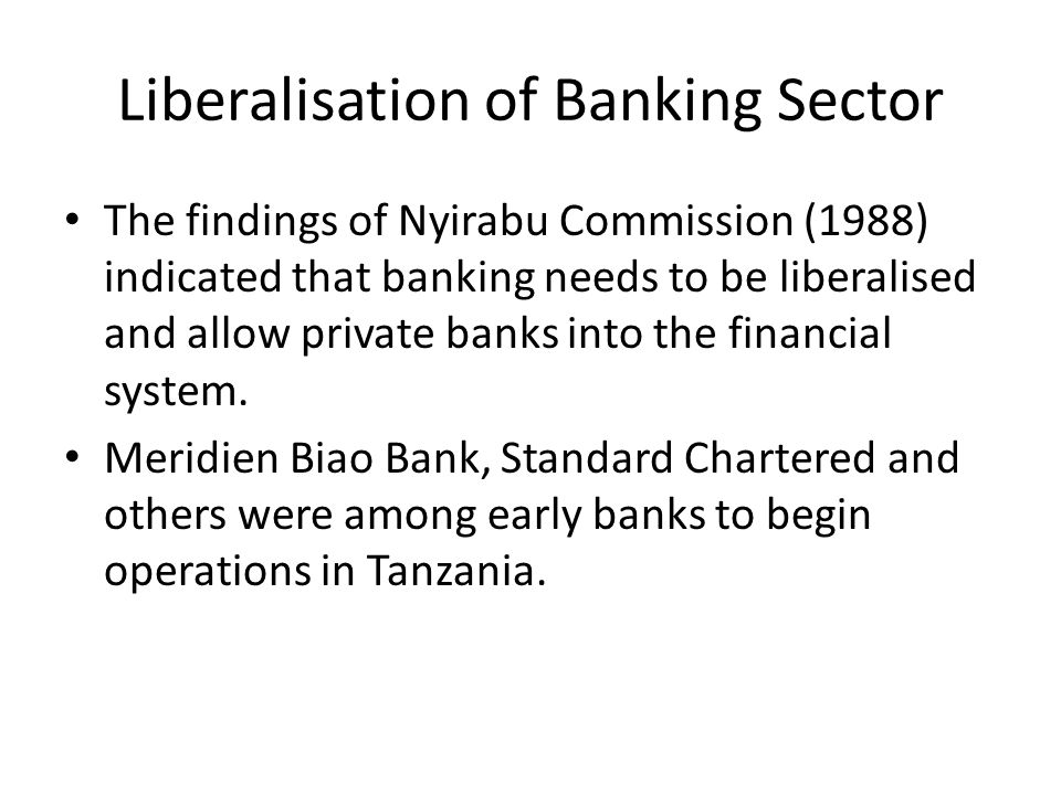 factors for islamic banking in tanzania Robert street, po box 3918, dar es salaam, tanzania e-mails:  by the bank ' s  product mix but rather attributed to systematic factors however, non.