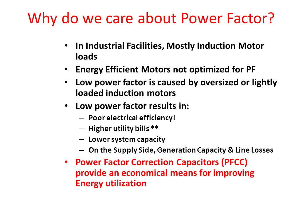 power factor correction ppt video online download