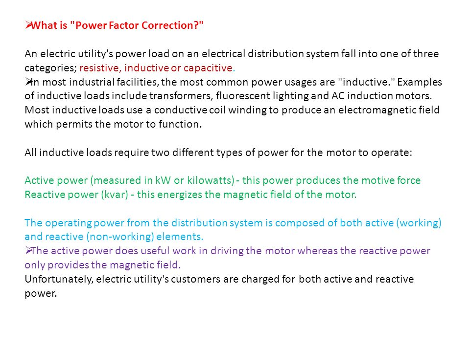 What is Power Factor Correction  sc 1 st  SlidePlayer & Power Factor Correction - ppt video online download azcodes.com