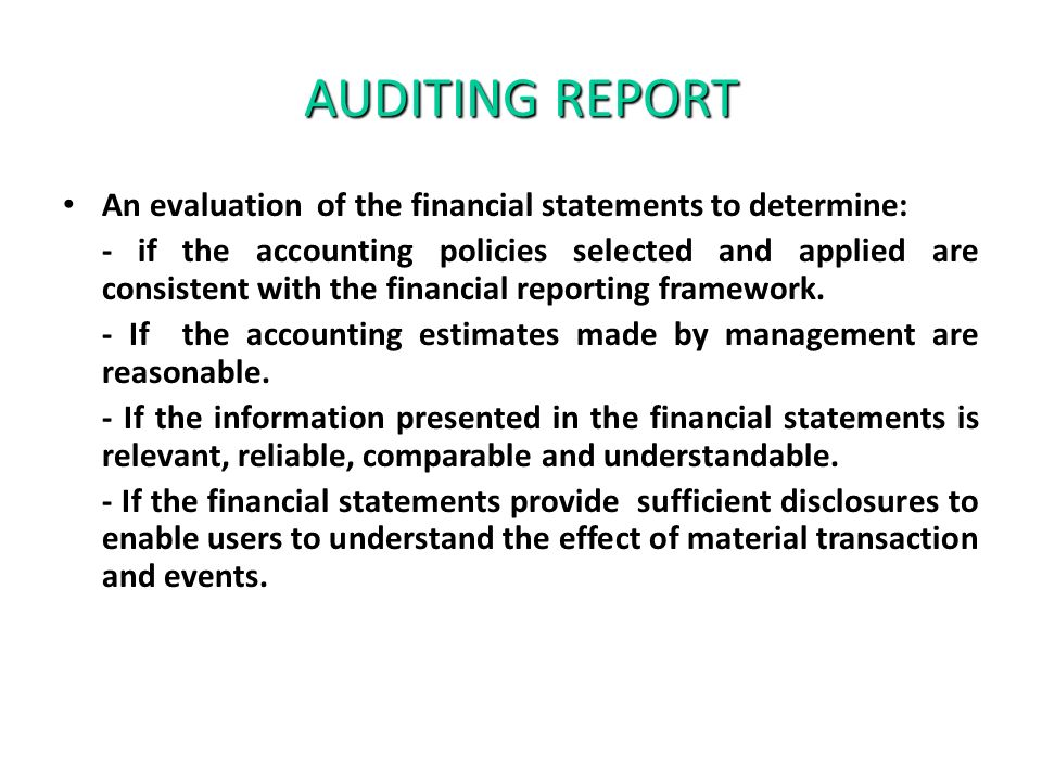 financial report and its relevance to It has relevance to the  report on internal financial  specific annual assessment for the purpose of making its public statement on internal control.