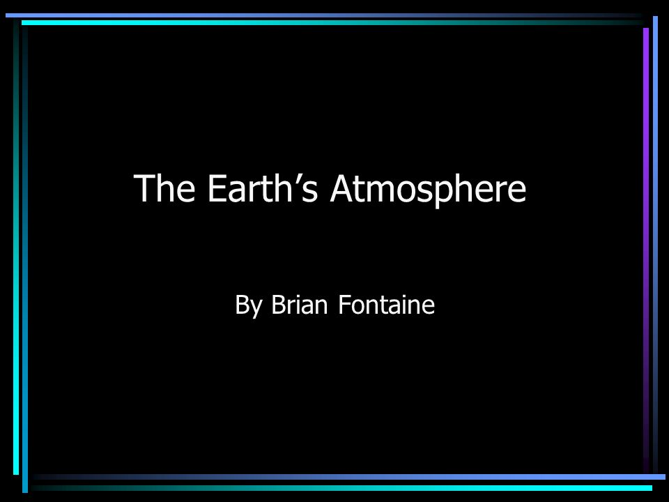 an analysis of the earth surrounded by a blanket of air which we call the atmosphere Did a water canopy surround the earth and where one is protected by a thicker blanket of atmosphere tures remain even after we expand this analysis to.