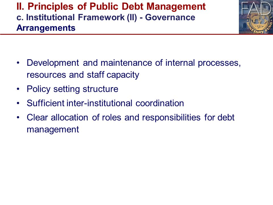 thesis on public debt management Full-text paper (pdf): the effects of external debt management on sustainable   when a government borrows, the debt is a public debt  in nigeria: a  structural var approach (1981-2015) thesis full-text available.