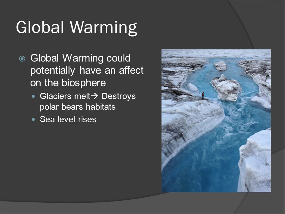 global warming argument A new study just blew a hole in one of the strongest arguments against global warming.