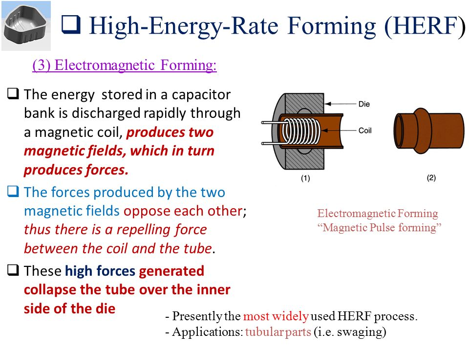 High‑Energy‑Rate Forming (HERF)