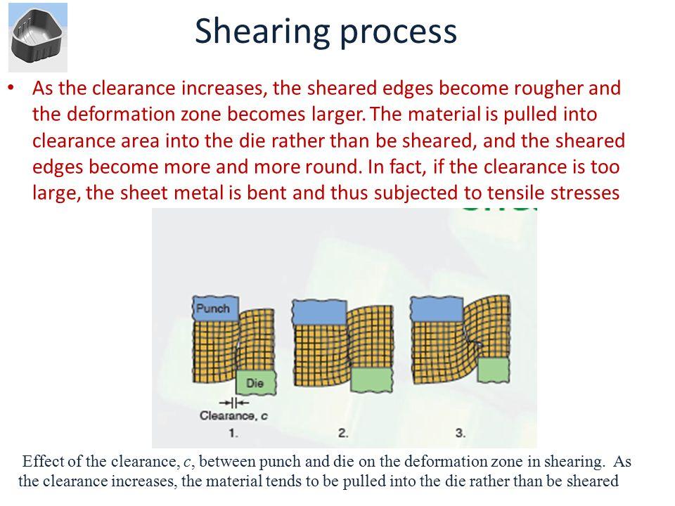 Shearing process