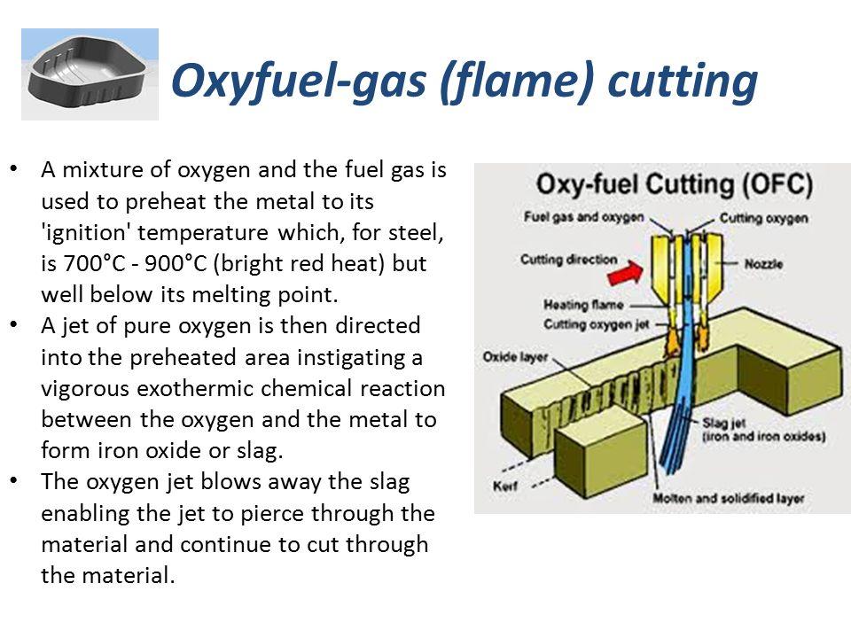 Oxyfuel-gas (flame) cutting