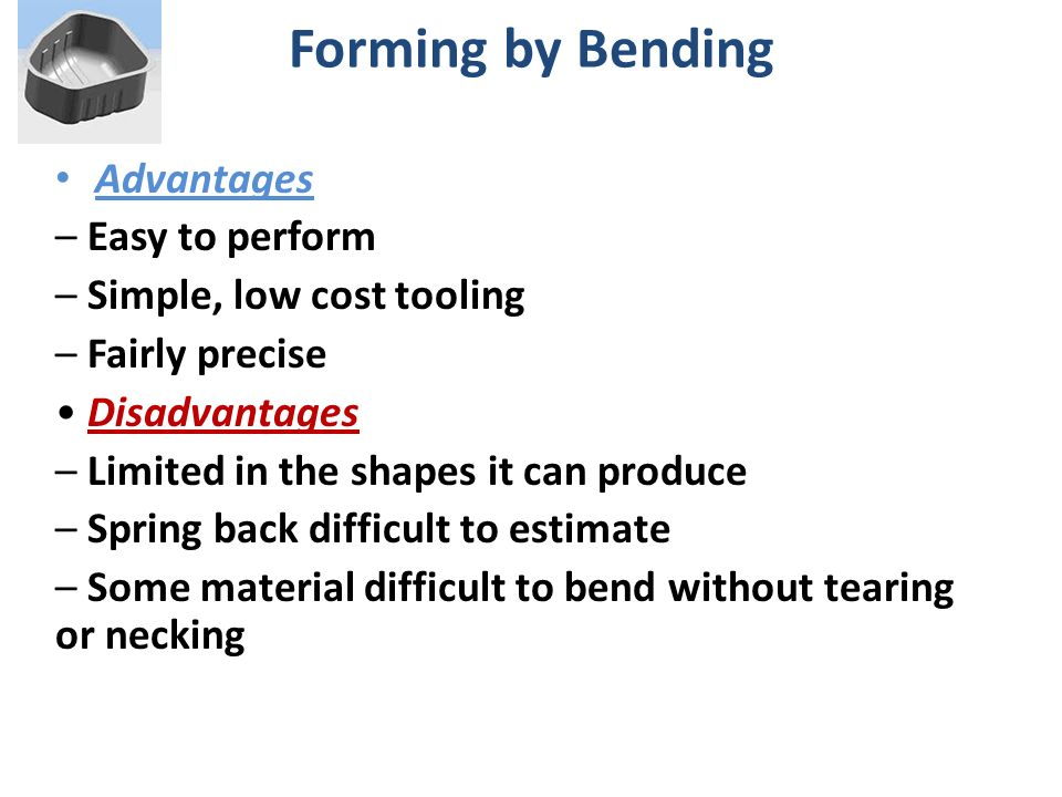 Sheet Metal Forming Process Chapter 7 Ppt Download