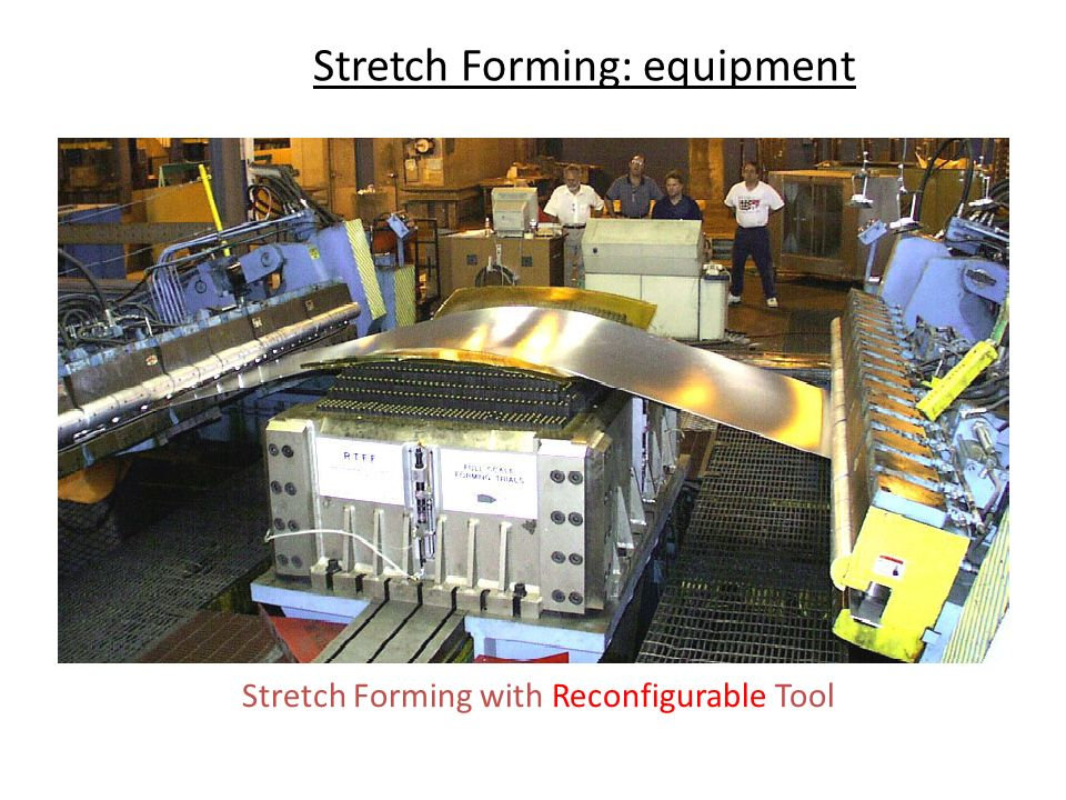 Stretch Forming: equipment