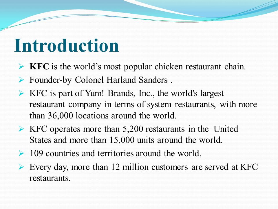 kfc in india ethical issues