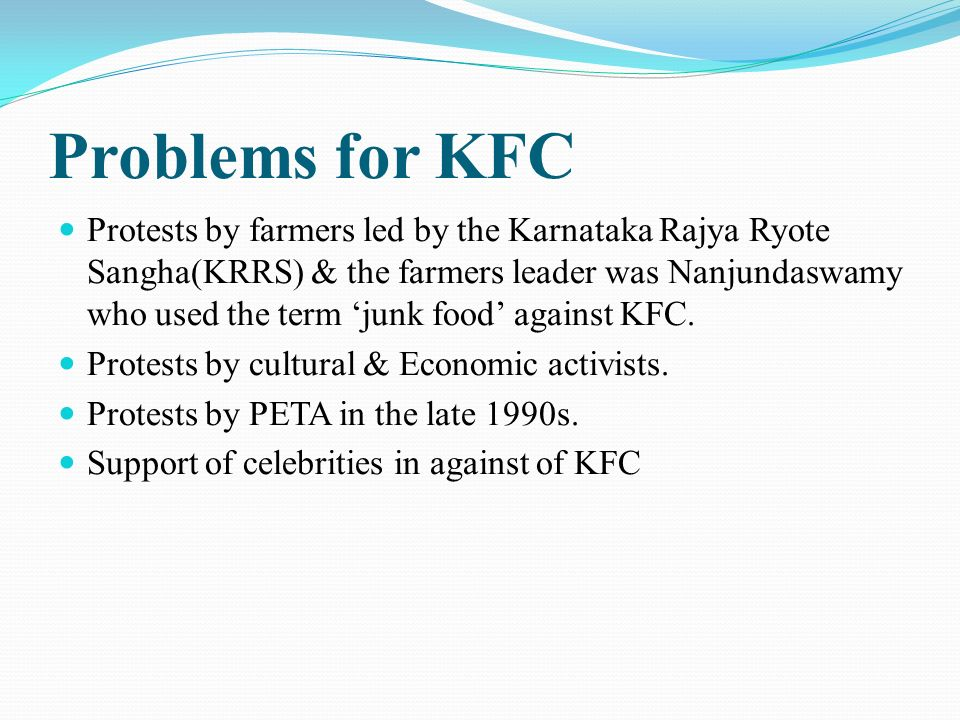 kfc business ethics analysis Ethical considerations t he consideration of ethics in research, and in general business for that  • content analysis of information contained in advertisements.