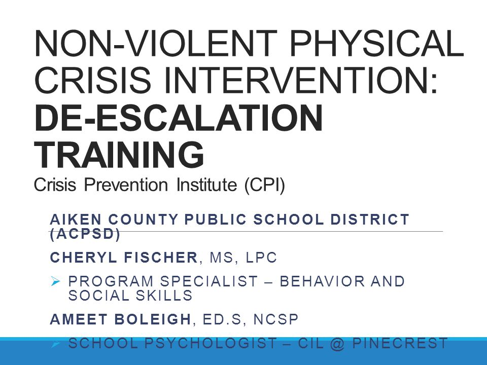 Crisis Prevention Intervention Certification Online 9456932