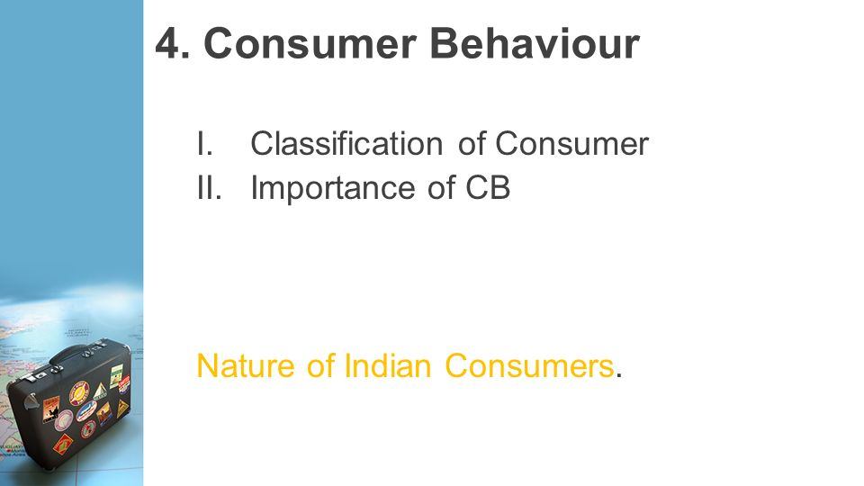 importance of consumber behaviour to marketers Chapter 3 consumer behaviour - a description every man is a consumer, and ought to be a producer  of consumer behaviour made marketers to think of a separate branch in marketing research - consumer research, to deal exclusively for consumer related issues  every society possesses some form of social class which is important to the.