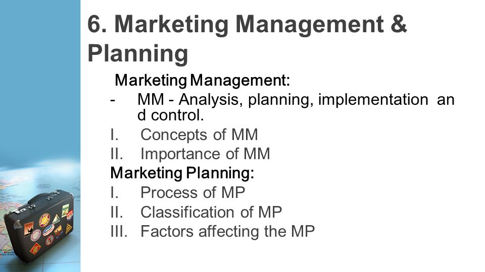 importance of marketing implementation Marketing implementation marketing implementation is the process that turns marketing plans into action assignments and ensures that such assignments are executed in a manner that accomplishes the plan's stated objectives (kotler 1997.