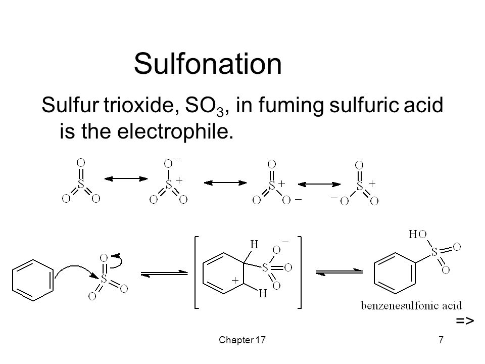 Aromatic Ring With Sulfur