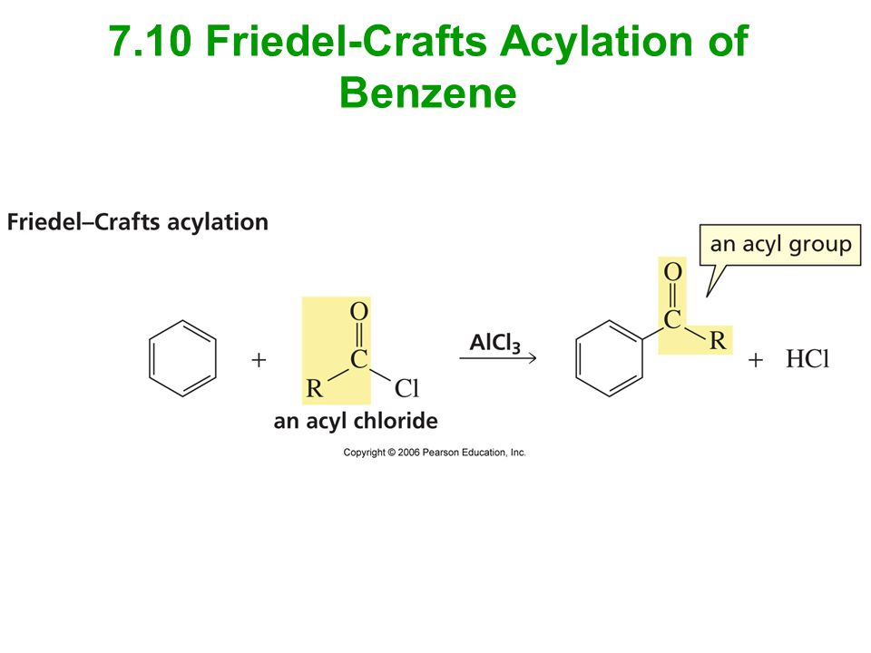 Friedel Crafts Acylation Of Substituted Benzene