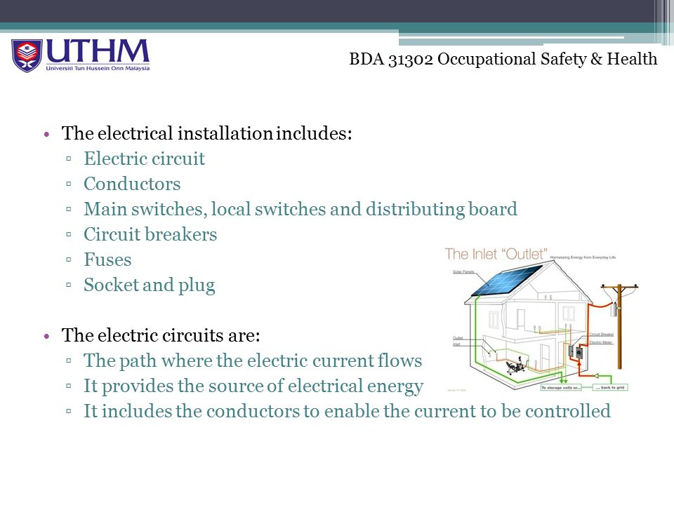 Electric Current Locator : Chapter physical injury and controls electrical