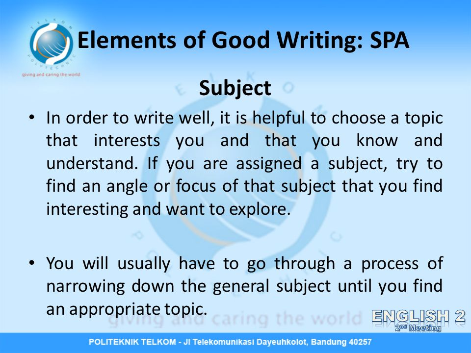 elements of a great essay We will write a custom essay sample on the cultural and human elements of the great bob marley's music specifically for you for only $1638 $139/page.