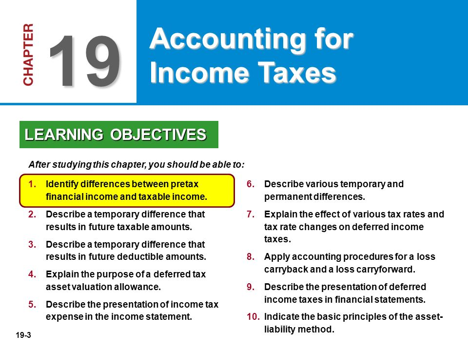 accounting for income taxes Accounting for taxes accounting for direct taxes income taxes are levied on a business by applying a percentage to the business's net income calculated in.