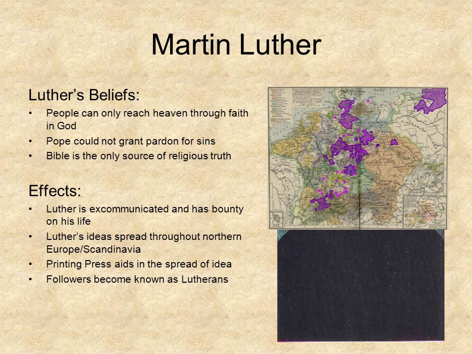 The Protestant Reformation - ppt video online download