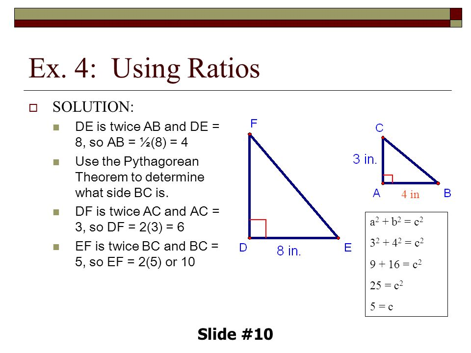 8.1 Ratio and Proportion Slide #1. - ppt download