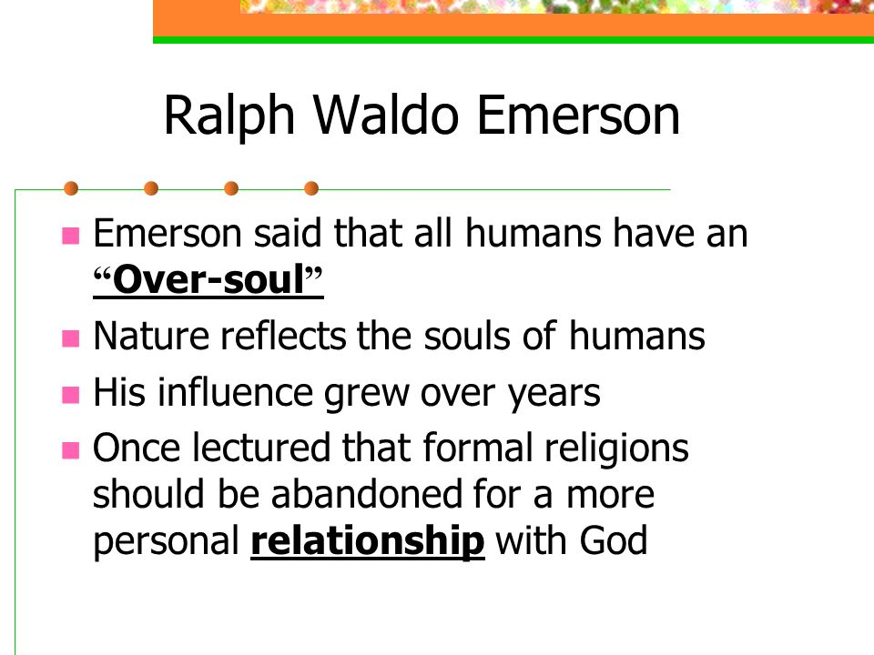 Emerson nature summary