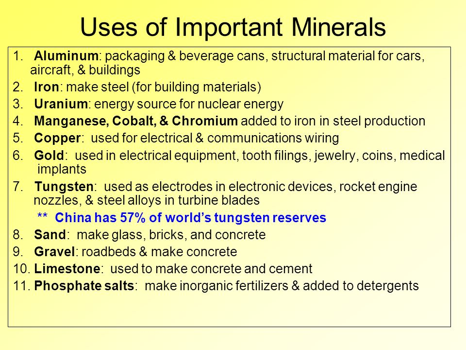 Uses For Gold Electronic : Nonrenewable natural resources ppt video online download