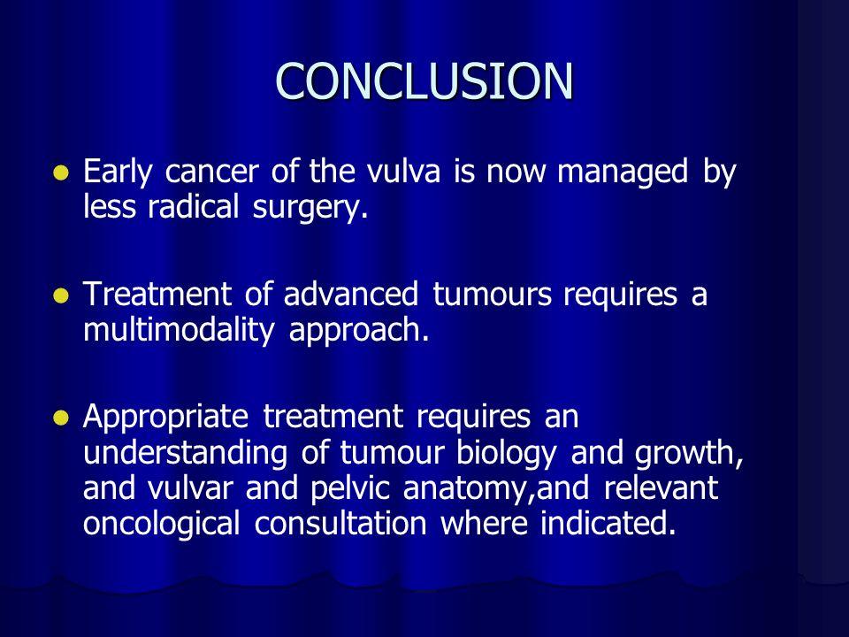 EMERGING TRENDS IN THE MANAGEMENT OF VULVAL CARCINOMA ...  Vulvar Cancer