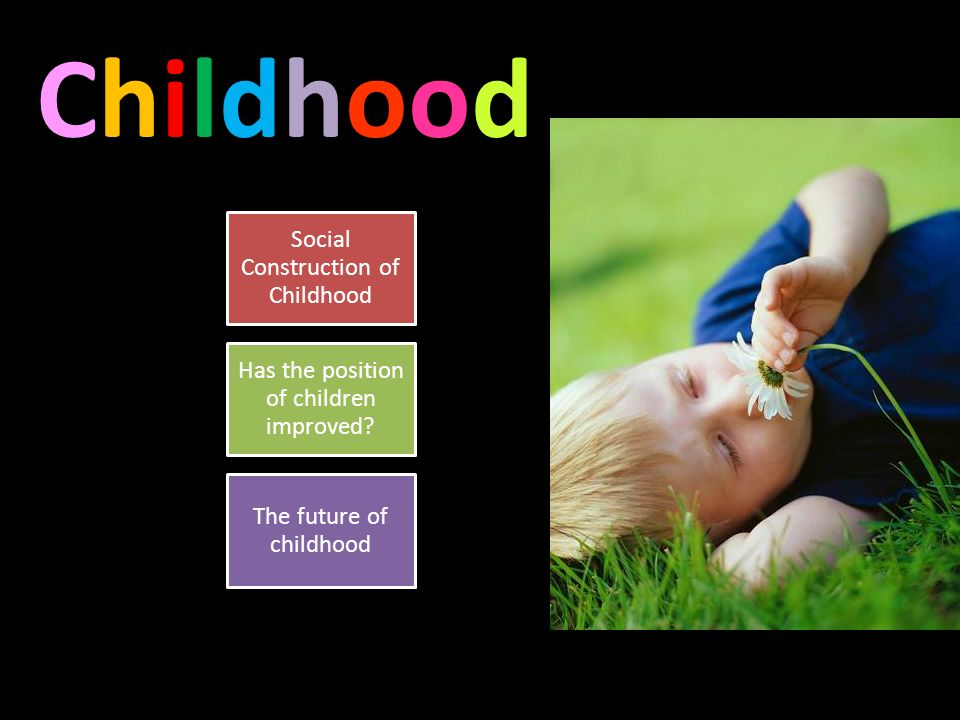has the social construction of children Childhood, which proves that childhood is neither universal nor natural in  exploring about childhood as social construction, it has been.