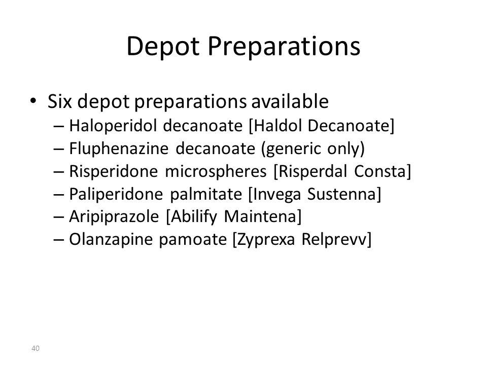 haloperidol decanoate nhs