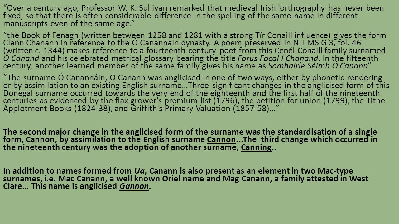 The Multilingual Origins Of Medieval Irish Surnames