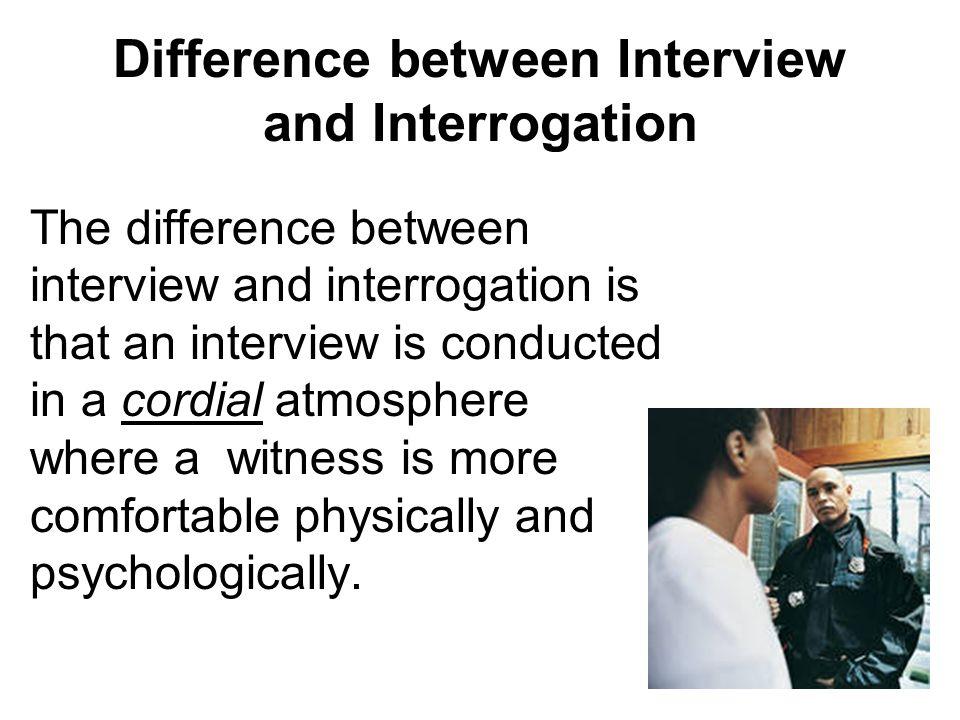 interview and interrogation techniques pdf