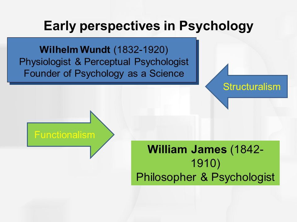 an analysis of difference perspectives of early psychology What is the main difference between bandura's approach and other behavioral theories a bandura emphasizes the historical context the origins of his perspective in the study of hysteria as well as his view of the brain are discussed history of psychology hysteria dream analysis manifest content of dreams.