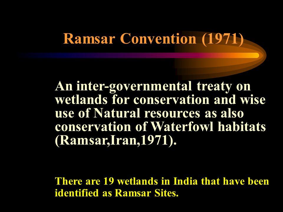 Ramsar Convention (1971)