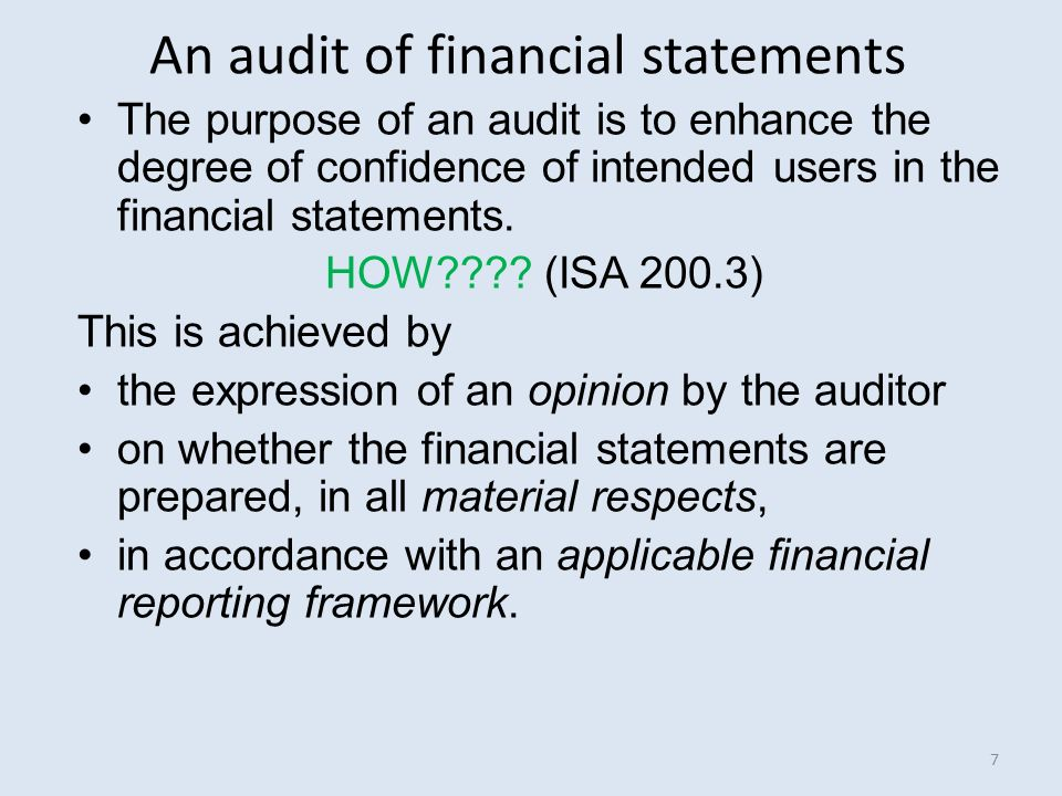 the purpose of an audit report Report issued in connection with the audit of a general purpose financial report prepared by an entity in the public or private sectors much of this aus can be adapted for audit reports on information.