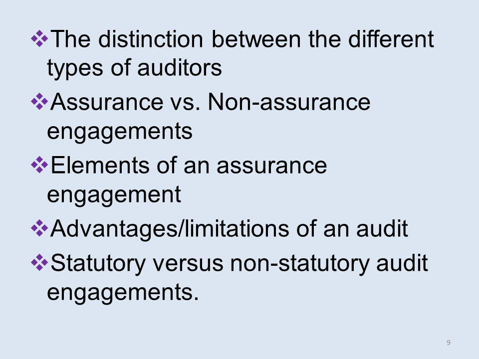 audit postulate What is an 'accounting postulate' an accounting postulate is a basic assumption in the field of accounting like any field, accounting has underlying axioms on which it is based accounting.