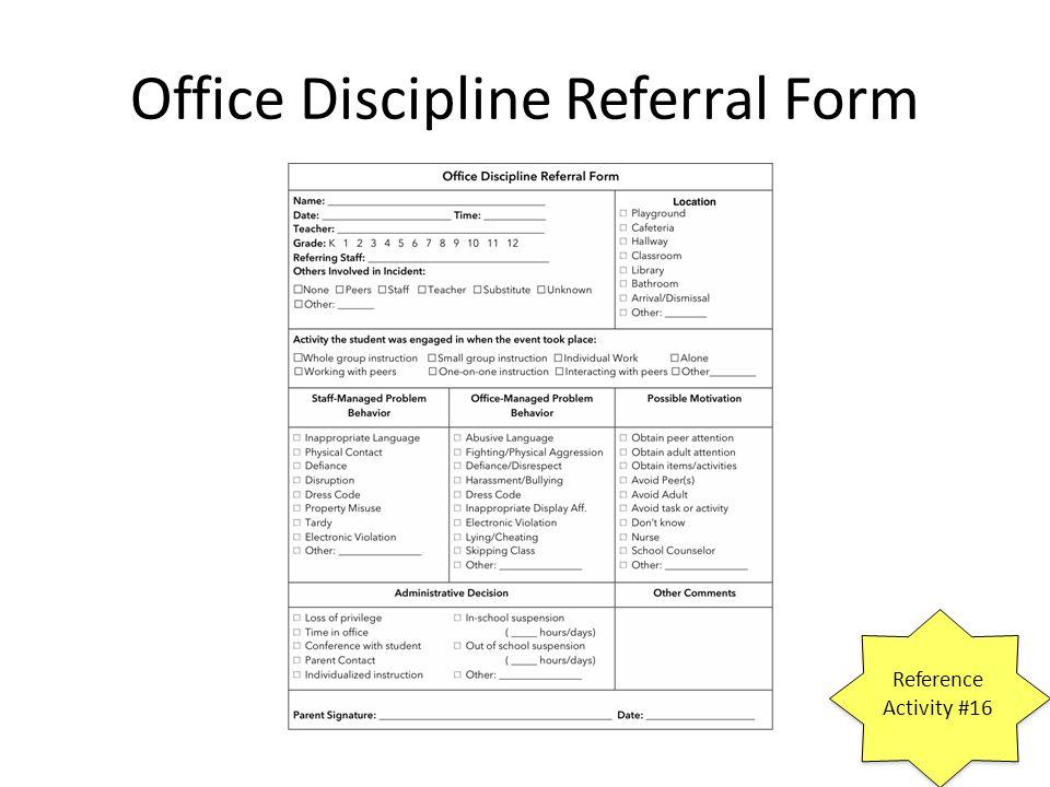 Office referral form vatozozdevelopment office referral form altavistaventures Images