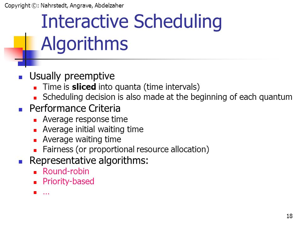 round robin scheduling algorithm pdf