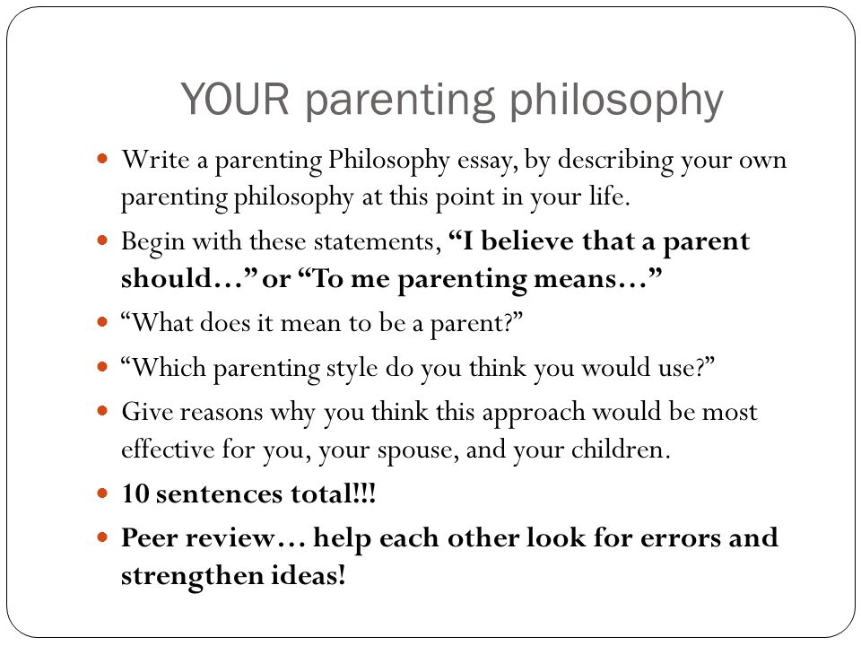 comparison essay on parenting styles A look at parenting styles essay 53 nathan watt grantham university in society if one was to take a look into the compare and contrast essay on parenting styles.